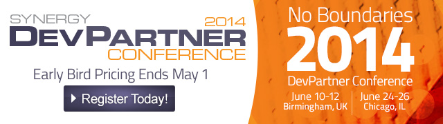 Synergy DevPartner Conference 2014