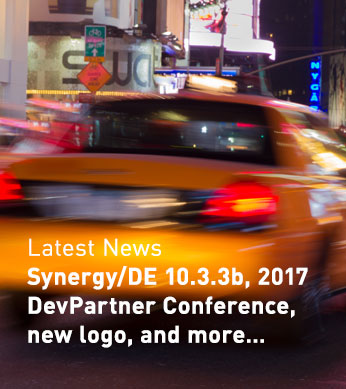 Synergy/DE 10.3.3b, 2017 DevPartner Conference, new logo, and more...
