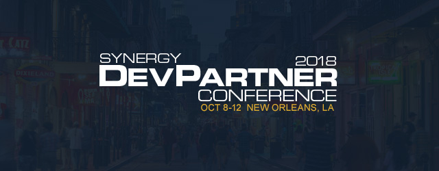 Synergy DevPartner Conference 2018