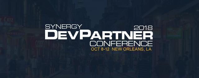 Synergy DevPartner Conference 2018